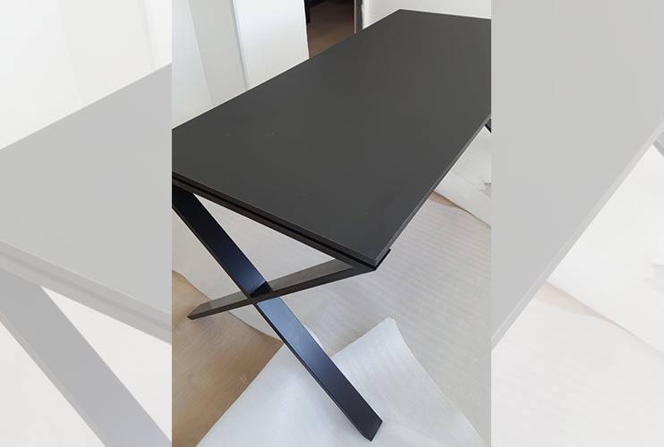שולחן משרדי- מערכת דגם X | מס': 3107