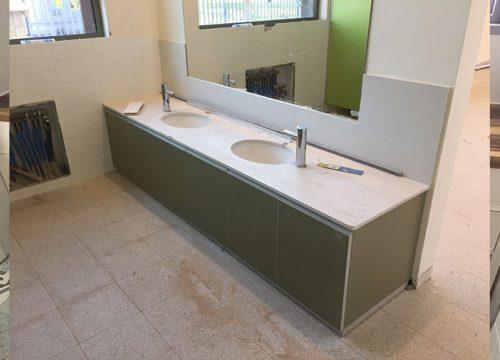 8Kitchen7008 500x360 - ארון לחדר שירותים במשרד | מס': 7008