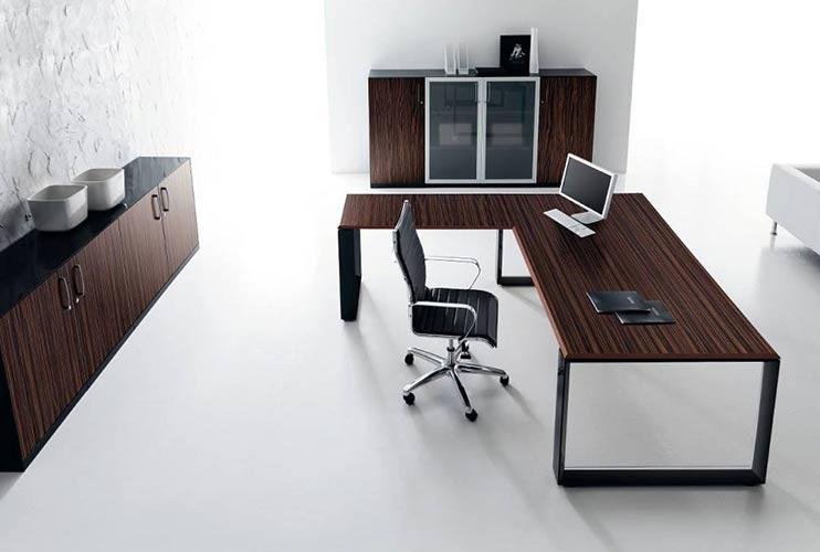 שולחן משרדי- STAR דגם פורניר | מס': 3008
