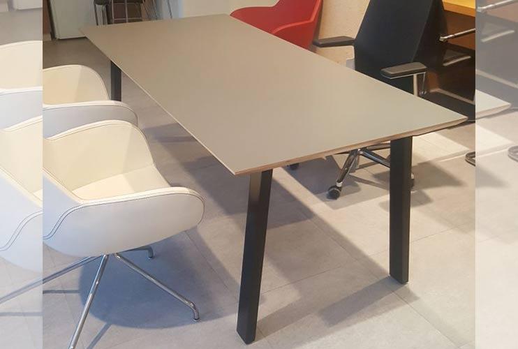 שולחן משרדי- מערכת דגם טרפז   מס': 3108