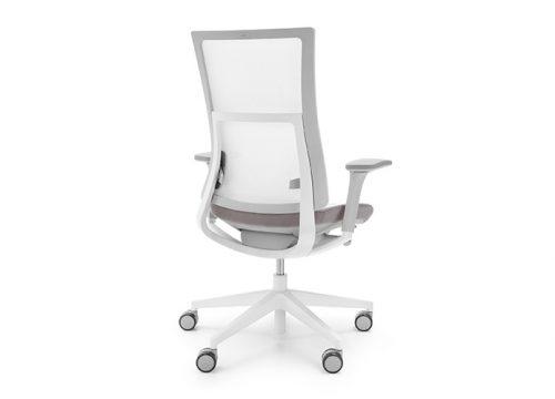 9Kise0109 500x360 - כסא משרדי- כסא עובד violle 150sfl לבן גב רשת   מס': 0109