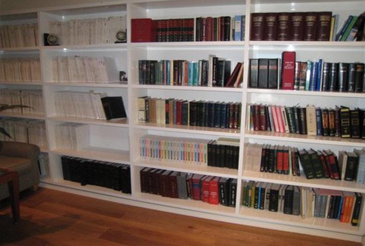 ארון משרדי- ספרייה באפוקסי   מס': 1109