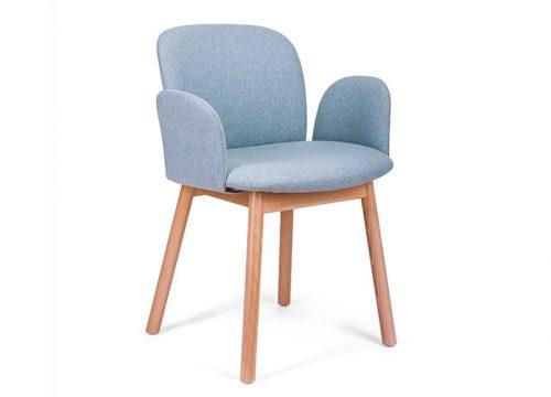 Paged April 1 500x360 - כסא אורח / כסא לחדר ישיבות דגם April רגלי עץ ישרות / מס' 626