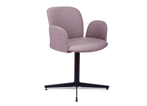 Paged April 3 500x360 - כסא אורח / כסא לחדר ישיבות דגם April רגל אנכית / מס' 628
