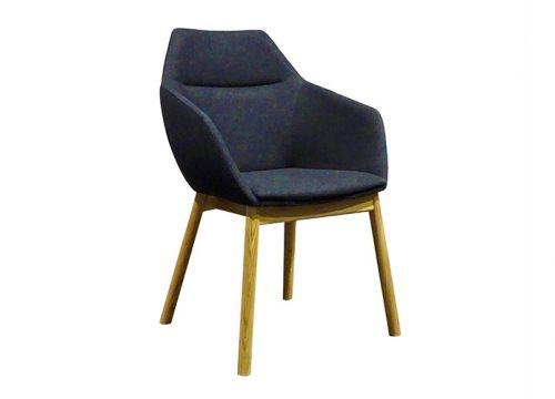 Paged Big Tuk 1 500x360 - כסא ישיבות / כסא אורח / המתנה דגם BIG TUK רגלי עץ / מס. 447