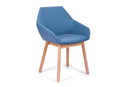 Paged TUK Nikodem Szpunar wood 500x360 - כסא ישיבות / כסא אורח / המתנה דגם TUK רגלי עץ / מס. 421