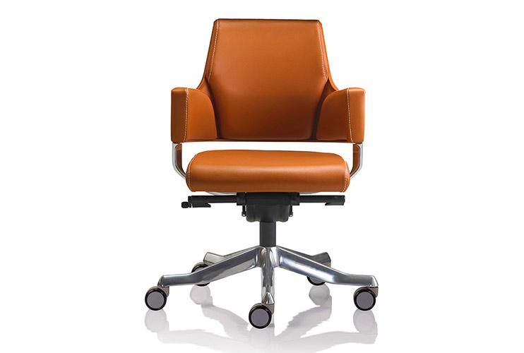 כסא לחדר ישיבות דגם DELPHI גב נמוך מס' 443