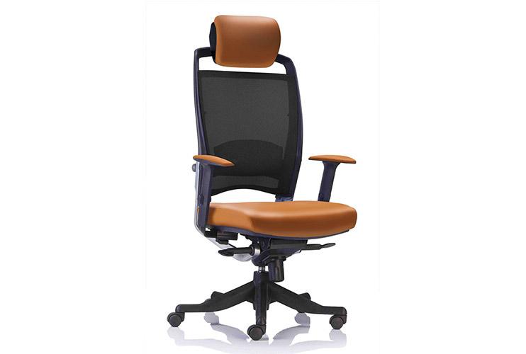 כסא מנהלים דגם FULKRUM גב גבוה משענת ראש / מס' 344