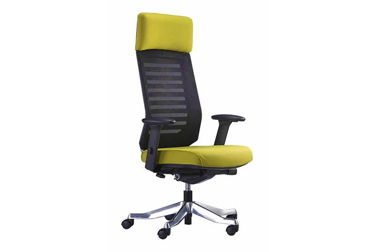 כסא מנהלים דגם Velo צבעוני גב גבוה משענת ראש / מס' 347