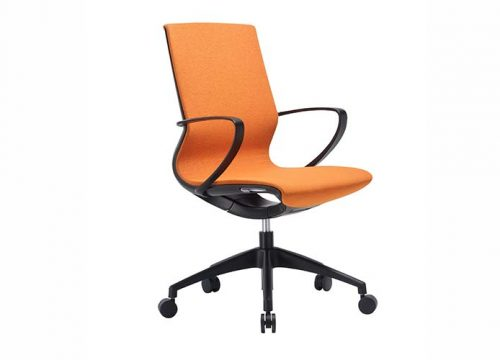 Marics4 500x360 - כסא לחדר ישיבות דגם Moto בצבע כתום- מס' 455