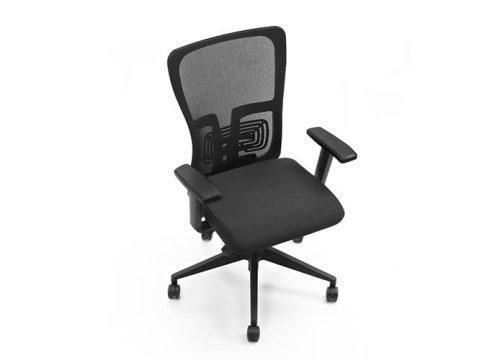 K5 BLACK 500x360 - כסא משרדי - כסא עובד דגם K5 שחור מס': 136