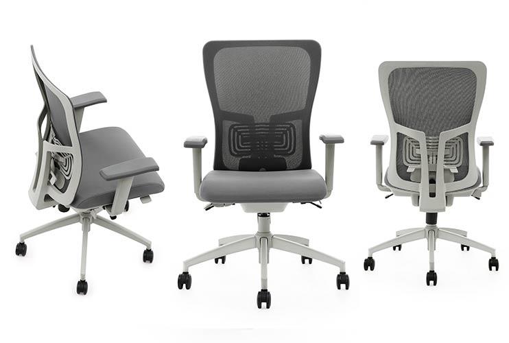 כסא משרדי – כסא עובד דגם K5 אפור מס': 137