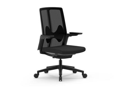 Butterfly B 2 500x360 - כסא משרדי - כסא עובד - דגם PURE BT נמוך - מס' 484
