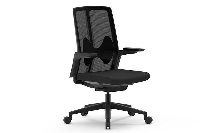 כסא משרדי – כסא עובד – דגם PURE BT נמוך – מס' 484