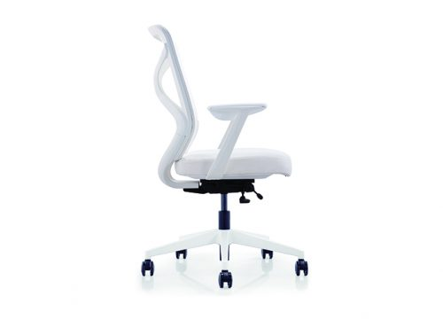 Herods לבן 1 500x360 - כסא משרדי - כסא עובד דגם HERODS לבן מס' 475