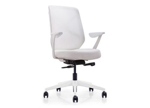 Herods B לבן עובדים 500x360 - כסא משרדי - כסא עובד דגם HERODS לבן מס' 474