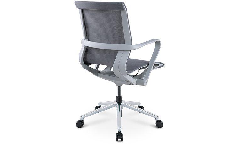 כסא לחדר ישיבות דגם PR רשת שחור גב בינוני מס. 473