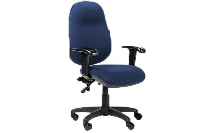 כסא משרדי – כסא עובד – דגם STAR גבוה ידיות מתכווננות מס' 113