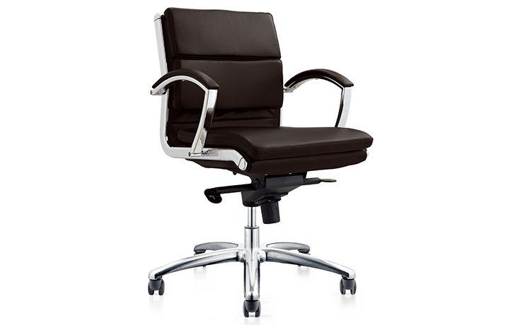 כסא חדר ישיבות/מנהלים דגם solid בינוני מס' 375