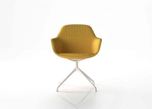 אורח ישיבות FLY 4 500x360 - כסא אורח, ישיבות FLY