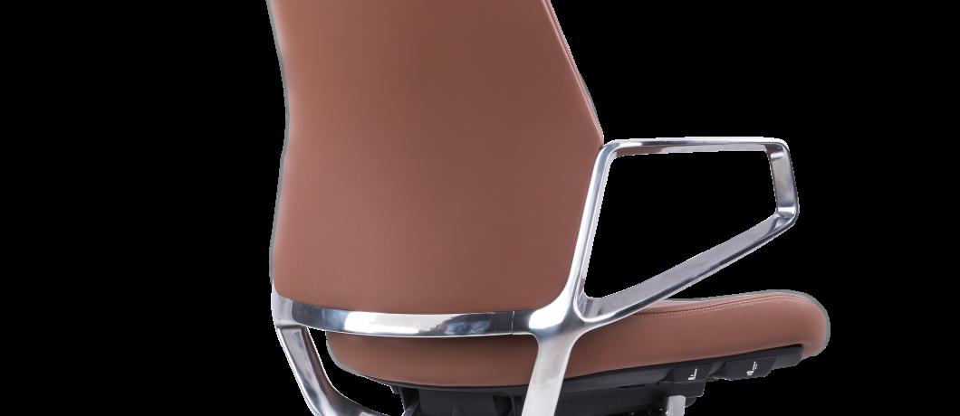 כסא לחדר ישיבות גב בינוני KOMO