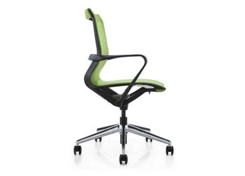 לחדר ישיבות PR רשת ירוקה 1 copy 500x360 - כסא לחדר ישיבות PR רשת ירוקה