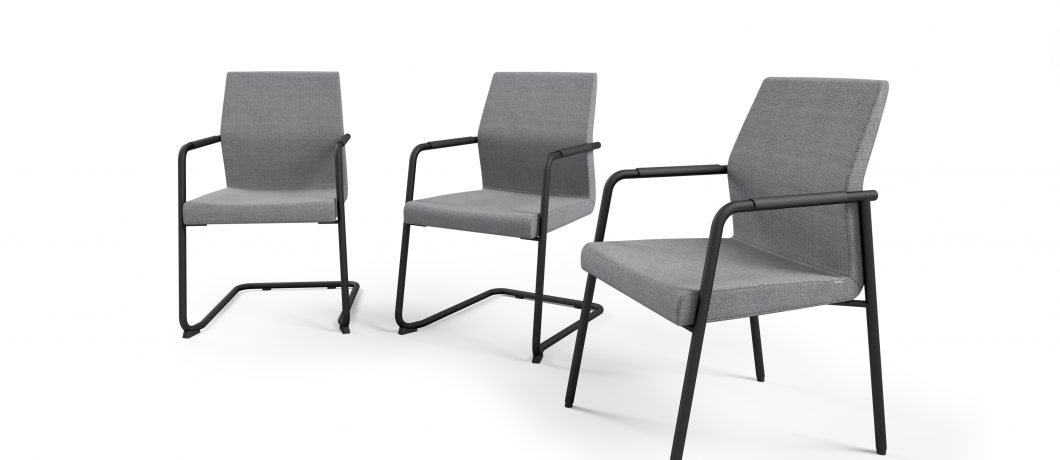 כסא לחדר ישיבות או כסא אורח acos 20vn   מס: 0601