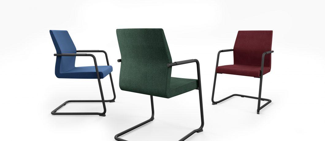 כסא לחדר ישיבות או כסא אורח acos 20vn | מס: 0601